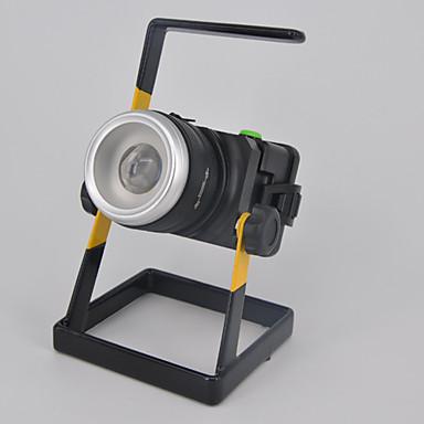 olcso Zseblámpák éslámpa túrázáshoz-Lámpások & Kempinglámpák 3000 lm LED LED Sugárzók 1 világítás mód Kempingezés / Túrázás / Barlangászat Mindennapokra Búvárkodás / Hajózás Fehér Fényforrás szín