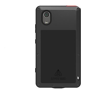 olcso Sony tokok-Case Kompatibilitás Sony Xperia XA1 Plus Víz / Dirt / ütésálló Héjtok Tömör szín Kemény Fém