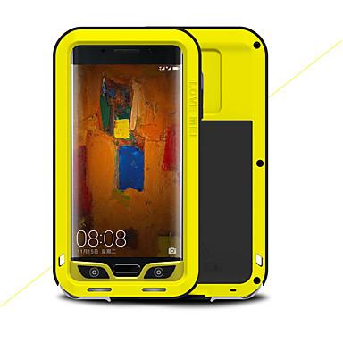 voordelige Huawei Mate hoesjes / covers-hoesje Voor Huawei Mate 9 Pro Schokbestendig Volledig hoesje Effen Kleur Hard Metaal