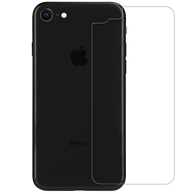 voordelige iPhone screenprotectors-AppleScreen ProtectoriPhone 8 9H-hardheid Achterkantbescherming 1 stuks Gehard Glas