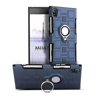 رخيصةأون Sony أغطية / كفرات-غطاء من أجل Sony Sony Xperia XA1 Ultra دوران360ْ / ضد الصدمات / حامل الخاتم غطاء خلفي لون سادة قاسي الكمبيوتر الشخصي