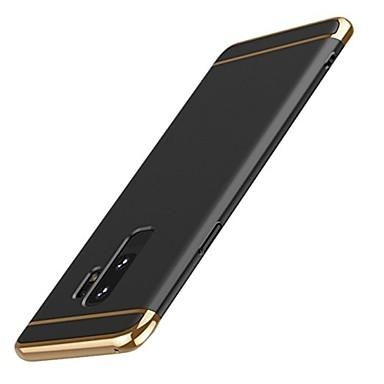رخيصةأون حافظات / جرابات هواتف جالكسي S-غطاء من أجل Samsung Galaxy S9 / S9 Plus / S8 Plus نحيف جداً غطاء خلفي لون سادة قاسي الكمبيوتر الشخصي