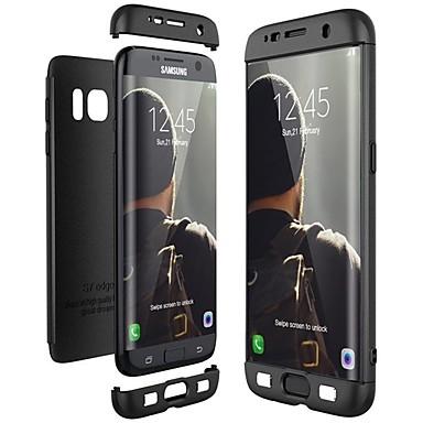 Недорогие Чехлы и кейсы для Galaxy S-Кейс для Назначение SSamsung Galaxy S9 / S9 Plus / S8 Plus Защита от удара / Ультратонкий Чехол Сплошной цвет Твердый ПК
