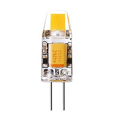 SENCART 1 buc 1 W Becuri LED Bi-pin 240-280 lm G4 T 1 LED-uri de margele COB Decorativ Alb Cald Alb Rece 12 V