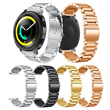 Недорогие Часы для Samsung-Ремешок для часов для Gear Sport / Gear S2 Classic Samsung Galaxy Современная застежка Нержавеющая сталь Повязка на запястье