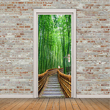 [€19.94] Paesaggi Natura morta Adesivi murali Adesivi aereo da parete  Adesivi 3D da parete Adesivi decorativi da parete Adesivi per porte, Vinile