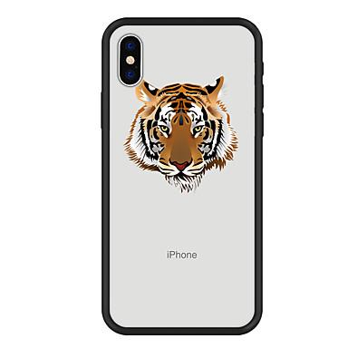voordelige iPhone 6 hoesjes-hoesje Voor Apple iPhone X / iPhone 8 Plus / iPhone 8 Patroon Achterkant dier Hard Acryl