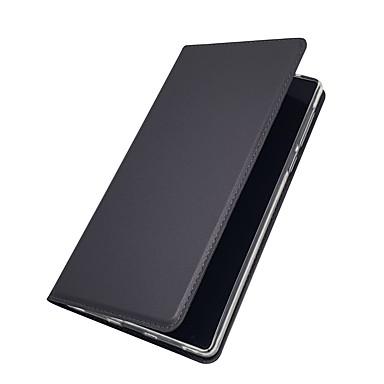Недорогие Чехлы и кейсы для Xiaomi-Кейс для Назначение Xiaomi Redmi Note 5A / Xiaomi Redmi Note 4X / Xiaomi Redmi Note 4 Бумажник для карт / со стендом / Флип Чехол Однотонный Твердый Кожа PU / Xiaomi Mi 6