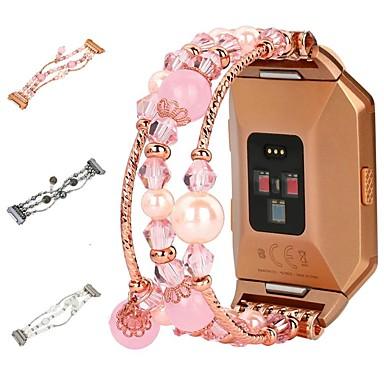 Недорогие Аксессуары для смарт-часов-Ремешок для часов для Fitbit ionic Fitbit Дизайн украшения Plastic Повязка на запястье