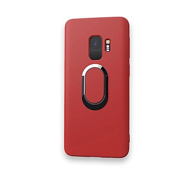 best sneakers 54928 d1f7b [$8.99] Case For Samsung Galaxy S9 / S9 Plus / S8 Plus Ring Holder Back  Cover Solid Colored Soft TPU