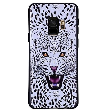 voordelige Galaxy S-serie hoesjes / covers-hoesje Voor Samsung Galaxy S9 / S9 Plus Patroon Achterkant Luipaardprint / dier Zacht TPU