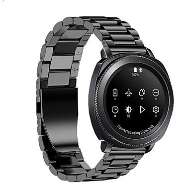 voordelige Smartwatch-accessoires-Horlogeband voor Gear S2 Classic Samsung Galaxy Moderne gesp Metaal / Roestvrij staal Polsband