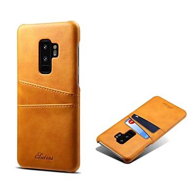 3D Brillos Carcasa Libro Flip Case Antigolpes Cartera PU Cuero Funda con Soporte para Samsung Galaxy S9 MRSTER Funda para Samsung Galaxy S9 YX 3D Panda Bamboo