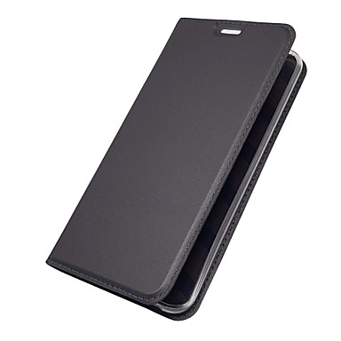 Недорогие Чехлы и кейсы для LG-Кейс для Назначение LG LG V30 / LG V20 / LG Q6 Бумажник для карт / со стендом / Флип Чехол Однотонный Твердый Кожа PU / LG G6