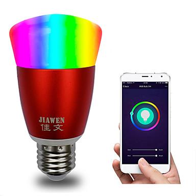 pametna wifi žarulja rgbw app kontrole dimmable e27 / e26 vodio žarulja radi s alexa google home 16 milijuna boja ac 85-265v