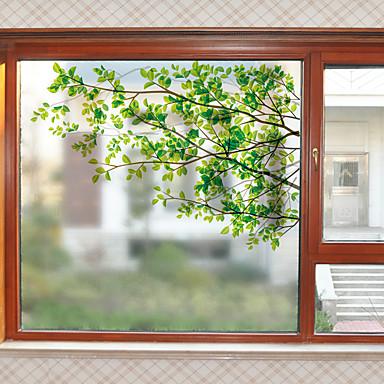 فيلم نافذة وملصقات زخرفة معاصر طباعة PVC ملصق النافذة / بدون لمعة
