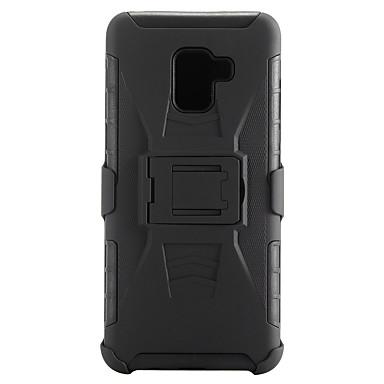 Недорогие Чехлы и кейсы для Galaxy А-Кейс для Назначение SSamsung Galaxy A8 2018 / A8+ 2018 Защита от удара Чехол броня Твердый ПК