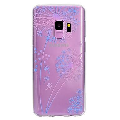 voordelige Galaxy S-serie hoesjes / covers-hoesje Voor Samsung Galaxy S9 / S9 Plus / S8 Plus Patroon Achterkant Paardebloem Zacht TPU