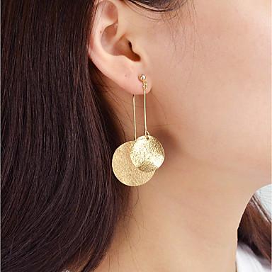 cheap Earrings-Drop Earrings Ladies Fashion Earrings Jewelry Gold / Silver For Daily Date