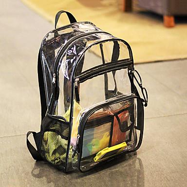 olcso Hátizsákok és táskák-10 L Hátizsákok Vízálló Külső Túrázás Utazás Iskola Átlátszó