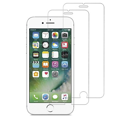 voordelige iPhone screenprotectors -AppleScreen ProtectoriPhone 7 High-Definition (HD) Voorkant screenprotector 2 pcts Gehard Glas