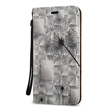 voordelige Galaxy S-serie hoesjes / covers-hoesje Voor Samsung Galaxy S9 / S9 Plus / S8 Plus Portemonnee / Kaarthouder / met standaard Volledig hoesje Paardebloem Hard PU-nahka
