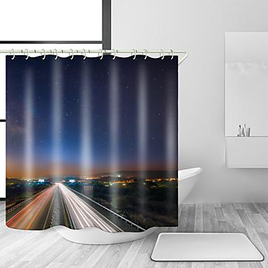 Moderigtigt Brusegardiner & Kroge Afslappet Moderne polyester Moderne Nyhed YE32