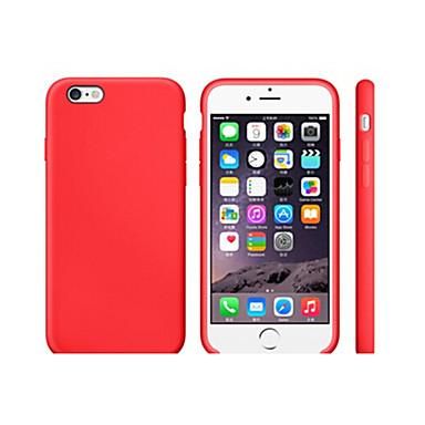 رخيصةأون حافظات أيفون XS-غطاء من أجل Apple iPhone XS / iPhone XR / iPhone XS Max ضد الصدمات / نحيف جداً غطاء خلفي لون سادة ناعم TPU