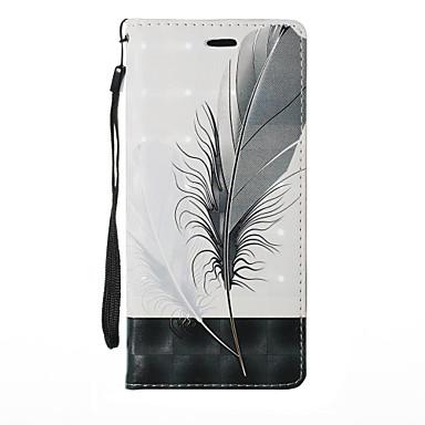 Недорогие Чехлы и кейсы для Galaxy Note 3-Кейс для Назначение SSamsung Galaxy Note 8 / Note 5 / Note 4 Бумажник для карт / со стендом / Флип Чехол Растения / Мультипликация / одуванчик Твердый Кожа PU