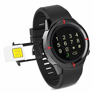 رخيصةأون ساعات ذكية-سمارت ووتش GW12 إلى iOS / Android بلوتوث / مقاوم للماء / استشعار تعمل باللمس / عداد الخطى / أب التحكم المقتفي النبض / عداد الخطى / تذكرة بالاتصال / متتبع النشاط / متتبع النوم / تذكير المستقرة