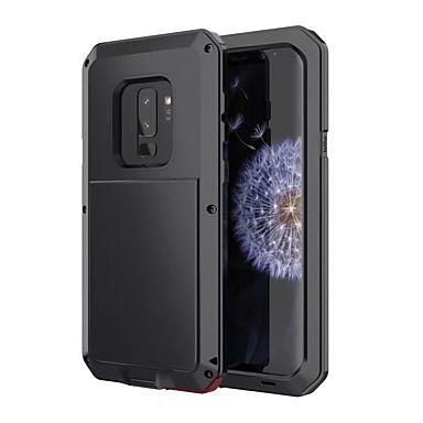 Недорогие Чехлы и кейсы для Galaxy S-Кейс для Назначение SSamsung Galaxy S9 Защита от удара / Защита от влаги Чехол броня Твердый Металл