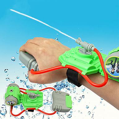 olcso víz gyermekjátékok-Mini Wrist Squirt Locsolójáték Tengerparti téma Stressz és szorongás oldására Szülő-gyermek interakció Műanyag ház Fiú Lány Játékok Ajándék 1 pcs