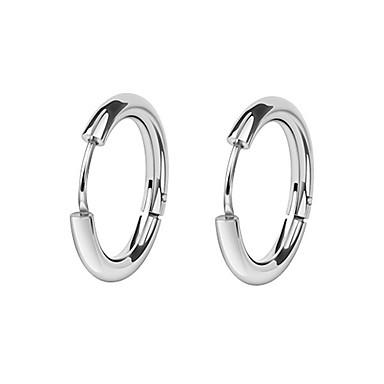 olcso Fülbevalók-Férfi Női Francia kapcsos fülbevalók Patentes fülbevalók hosszú éles kés Európai Divat Fülbevaló Ékszerek Fekete / Ezüst Kompatibilitás Esküvő Napi Álarcos mulatság Eljegyzés Diákbál Utca