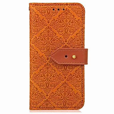 povoljno Maske za mobitele-Θήκη Za Xiaomi Xiaomi Redmi 5 Plus / Xiaomi Redmi 5 Novčanik / Utor za kartice / sa stalkom Korice Linije / valovi / Geometrijski uzorak Tvrdo PU koža