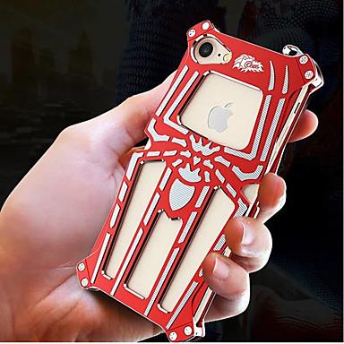 Недорогие Кейсы для iPhone-Кейс для Назначение Apple iPhone 8 Pluss / iPhone 8 / iPhone 7 Plus Защита от удара / броня Кейс на заднюю панель броня Твердый Металл