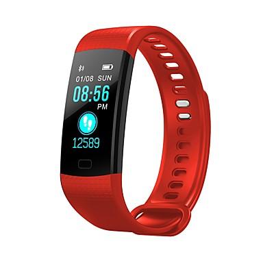 رخيصةأون ساعات ذكية-y5 الذكية معصمه بلوتوث اللياقة البدنية تعقب دعم الإخطار / رصد معدل ضربات القلب الرياضية للماء smartwatch للهواتف iphone / samsung / android