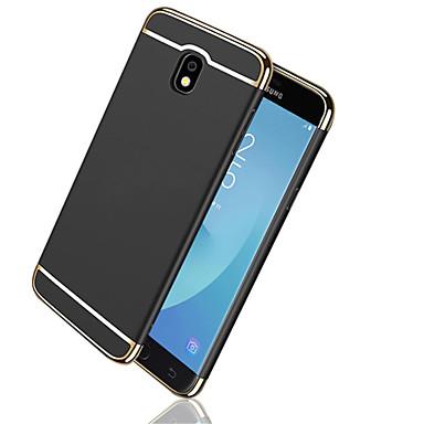 غطاء من أجل Samsung Galaxy J7 Prime / J7 (2017) / J7 (2016) تصفيح / مثلج غطاء خلفي لون سادة قاسي الكمبيوتر الشخصي