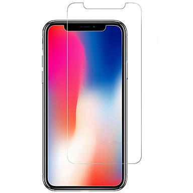 voordelige iPhone screenprotectors-AppleScreen ProtectoriPhone X 9H-hardheid Voorkant screenprotector 1 stuks Gehard Glas