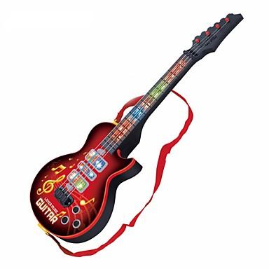 olcso zenegép-Elektromos gitár Gitár Fények Zene Fiú Lány Gyermek Játékok Ajándék 1 pcs