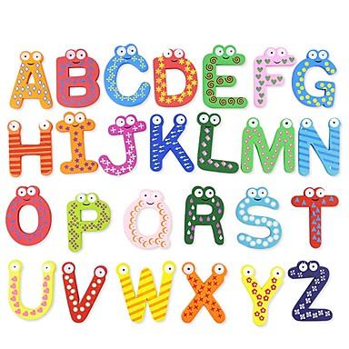 olcso Kid tabletta-Játékos olvasás SUV Állatok Család Fa / Bambusz Szokásos Klasszikus Rajzfilmfigura 26 pcs Gyermek Felnőttek Uniszex Fiú Lány Játékok Ajándék