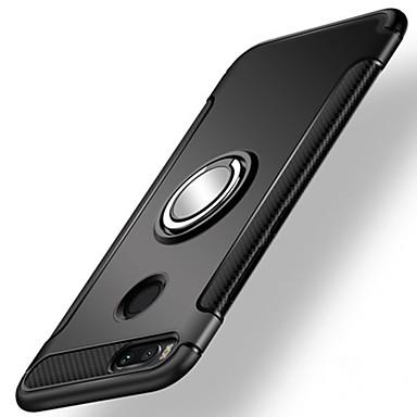 رخيصةأون Xiaomi أغطية / كفرات-غطاء من أجل Xiaomi Xiaomi Mi 5X / Xiaomi A1 ضد الصدمات / حامل الخاتم غطاء خلفي درع قاسي الكمبيوتر الشخصي