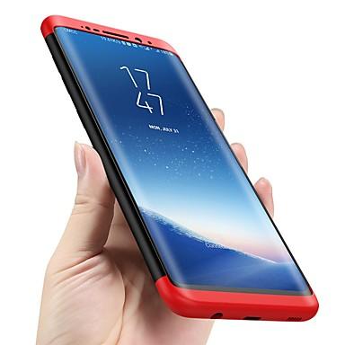 Недорогие Чехлы и кейсы для Galaxy S-Кейс для Назначение SSamsung Galaxy S9 / S9 Plus / S8 Plus Защита от удара / Ультратонкий Чехол Однотонный Твердый ПК