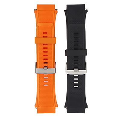 お買い得  携帯電話アクセサリー-時計バンド のために Huawei Watch 2 Huawei スポーツバンド シリコーン リストストラップ