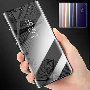 povoljno Samsung oprema-Θήκη Za Samsung Galaxy J7 Prime / J7 (2017) / J5 Prime sa stalkom / Zrcalo Korice Jednobojni Tvrdo PC
