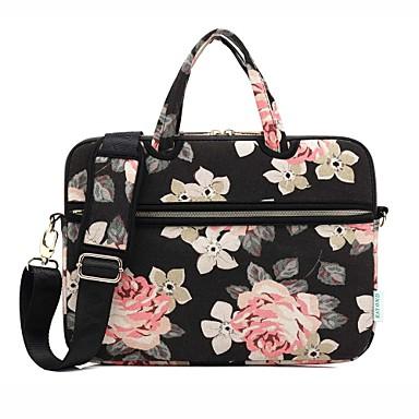 694530929 tašky na rameno kabelky květinové plátno laptop taška pro macbook vzduchu  13.3 / macbook pro 13.3 15.4 / nová macbook 13.3 15.4 s dotykovým barem  5885429 ...