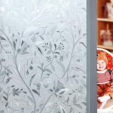 levne Zařízení domácnosti-Květinový 45 cm 100 cm Matné Obývák / Bath Room / Obchod s kávou / kavárna PVC / Vinil