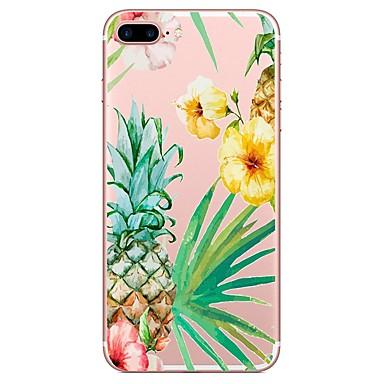 voordelige iPhone-hoesjes-hoesje Voor Apple iPhone X / iPhone 8 Plus / iPhone 8 Patroon Achterkant Bloem Zacht TPU