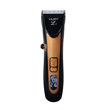 povoljno kosa trimeri-usb keramički r-blade trimmer za kosu koji se može puniti kose za kosu 4x dodatno ograničavajući češalj tihi motor za djecu& dijete&ali