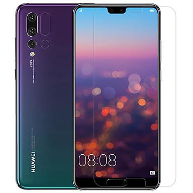 olcso Huawei képernyővédők-nillkin képernyővédő huawei a huawei p20 pro pet temperált üveghez 2 db elöl& fényképezőgép objektívvédő anti-glare anti-fingerprint karcolás