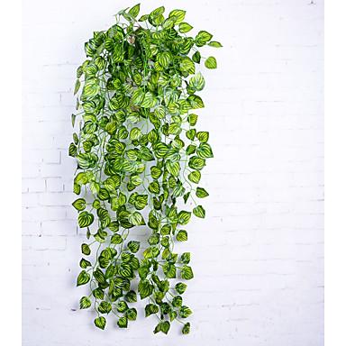 زهور اصطناعية 1 فرع أسلوب بسيط النمط الرعوي نباتات أزهار الحائط